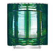 Lightouse Lantern At Portland Lighthouse Shower Curtain