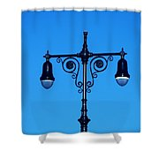 Lights Of Coney Island Shower Curtain