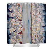 Lights Of The Night Shower Curtain