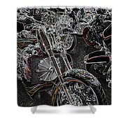 Lights Out 2 Shower Curtain