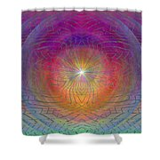 Lightwave Geometrics Shower Curtain