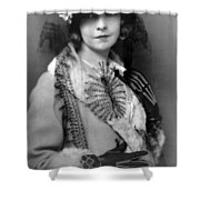 Lillian Gish 1922 Shower Curtain