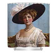 Lillian Russell On Cover Shower Curtain