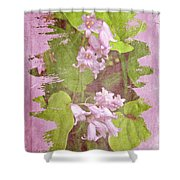 Lily Of The Valley - In The Pink #3 Shower Curtain