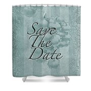 Lily Of The Valley Save The Date Greeting Card Shower Curtain