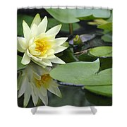 Lily Reflected Shower Curtain