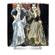 Lilyan And Kay 2 Shower Curtain