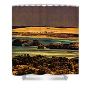 Limestone Sculptured By Nature Shower Curtain