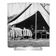 Lincoln & Mcclellan, 1862 Shower Curtain