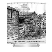 Lincoln Birthplace Shower Curtain