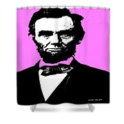 Lincoln Shower Curtain by George Pedro