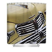 Lincoln Grille Shower Curtain