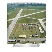 Lincoln Il Airport Shower Curtain