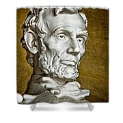 Lincoln Profle 2 Shower Curtain