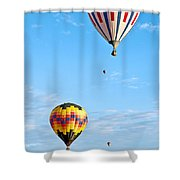 Line Up Shower Curtain