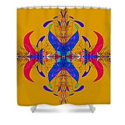 Linear Movement Number 3 Shower Curtain