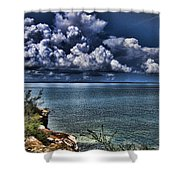 Lingering Clouds Shower Curtain