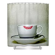 Lip Marks Shower Curtain