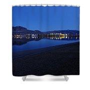 Liquid Blue Reflections 2 Shower Curtain