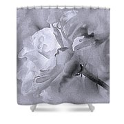 Liquid Rose Shower Curtain