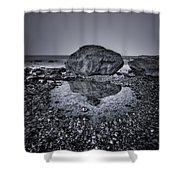 Liquid State Shower Curtain