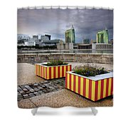 Lisbon Expo Shower Curtain