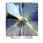 Little Blue Flower Shower Curtain