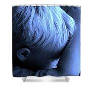 Little Boy Blue Shower Curtain