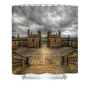 Little Castle Entrance - Bolsover Castle Shower Curtain