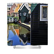 Little Dutch Houses Shower Curtain