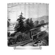Little Falls: Railroad Shower Curtain
