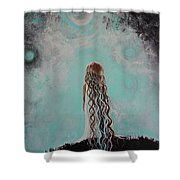 Little Galaxie Three Shower Curtain