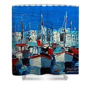 Little Harbor Shower Curtain