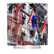 Little Italy In Color Shower Curtain