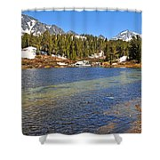 Little Lakes Valley Shower Curtain