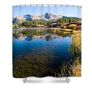 Little Molas Lake Shower Curtain