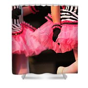 Little Pink Tutus Shower Curtain