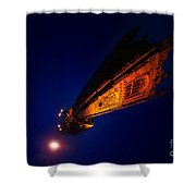 Little Planet - Derby Cathedral Shower Curtain