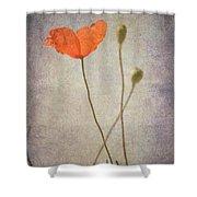 Little Poppy Shower Curtain