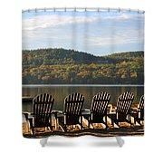 Little Squam Relax 1 Shower Curtain