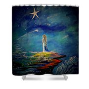 Little Wishes One Shower Curtain