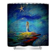 Little Wishes Too Shower Curtain