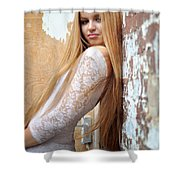 Liuda11 Shower Curtain