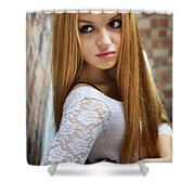 Liuda12 Shower Curtain