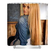 Liuda13 Shower Curtain