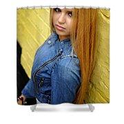 Liuda16 Shower Curtain