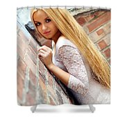 Liuda3 Shower Curtain