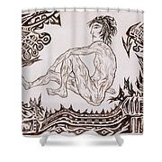 Live Nude - Male No. 26 Shower Curtain