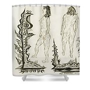 Live Nude 18 Female Shower Curtain