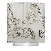 Live Nude 24 Female Shower Curtain